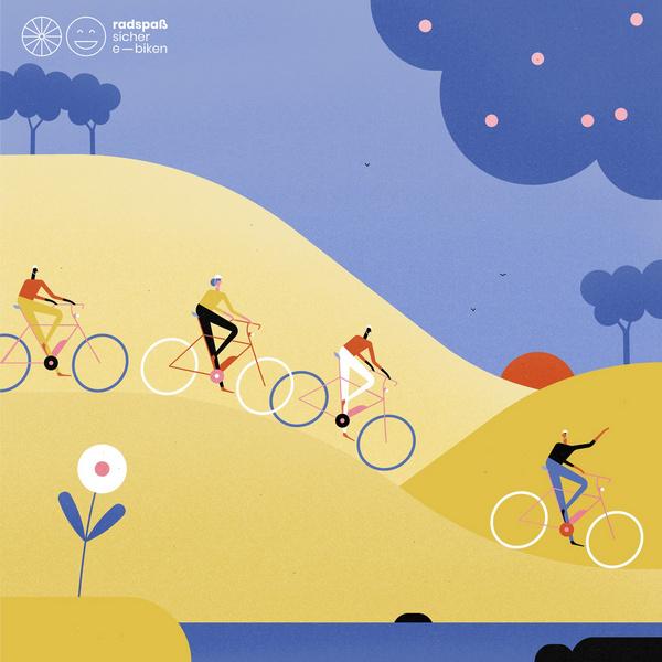 Radspaß für alle! © Radspaß – sicher e-biken / Fran Labuschagne