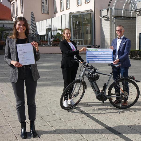 Preisübergabe Stadtradeln Ludwigsburg