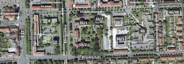 Lageplan - Anklicken vergrößert das Bild