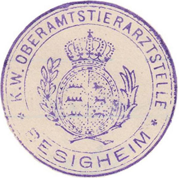 Dienstsiegel ca. 1900