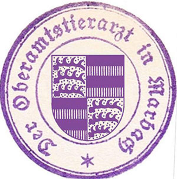 Dienstsiegel um ca. 1920