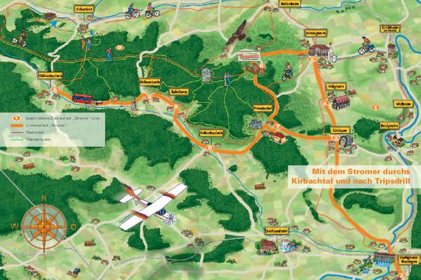 Karte Stromer