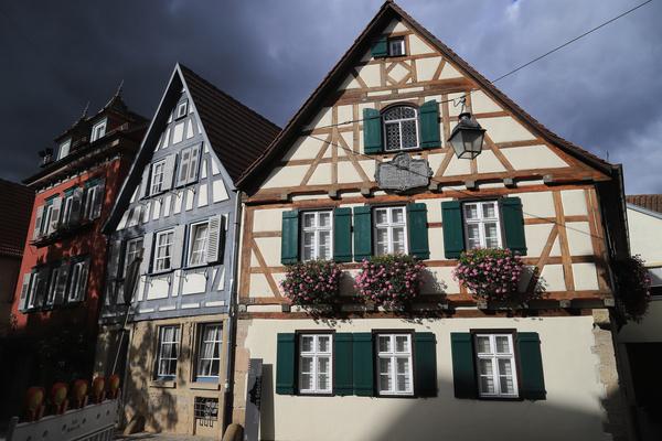 Schiller Geburtshaus in Marbach