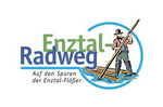 """[Translated to """"Englisch"""" by """"deepL""""] Logo Enztal cycle path"""