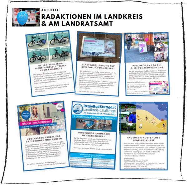 Vorstellung aktueller Aktionen © Landratsamt Ludwigsburg