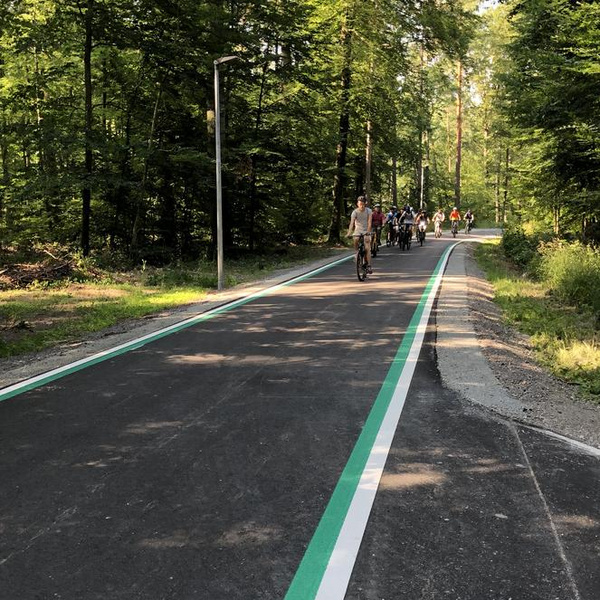 Erster Radschnellweg in Baden-Württemberg. Foto: Landratsamt Böblingen