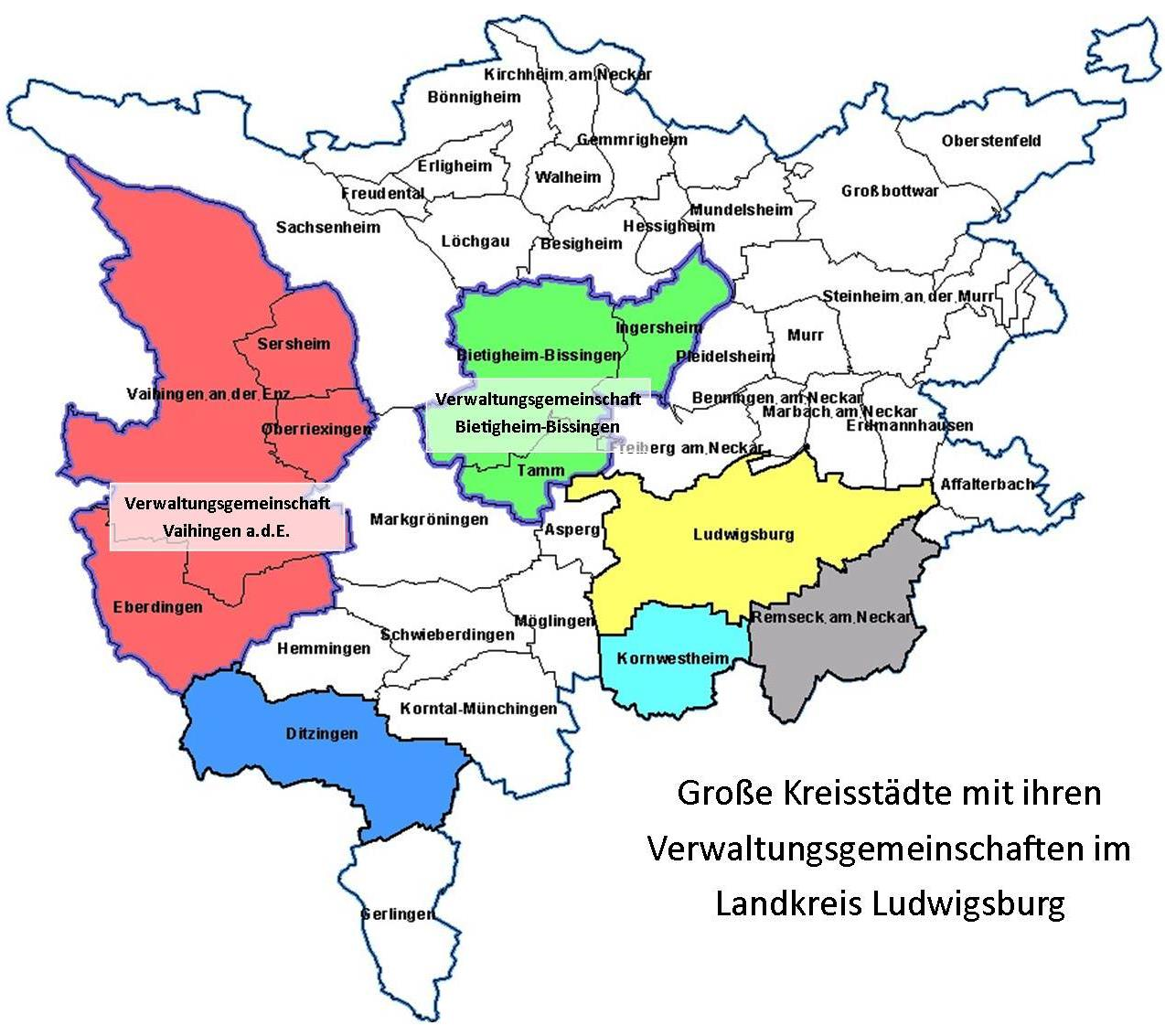 Functions Of The Major District Town Landratsamt Ludwigsburg