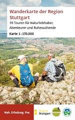 Titel Wanderkarte der Region Stuttgart
